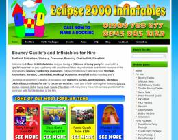 Eclipse 2000 Inflatables