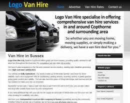 Logo Van Hire
